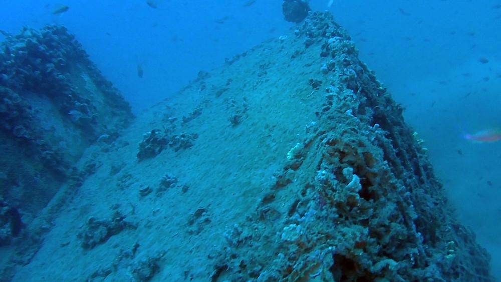 Wreck of the tugboat Silvio