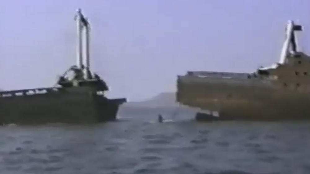 Immersione a Tavolara 1994