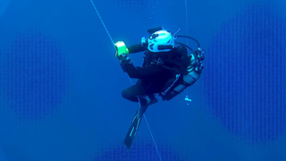 Decompression of a diver