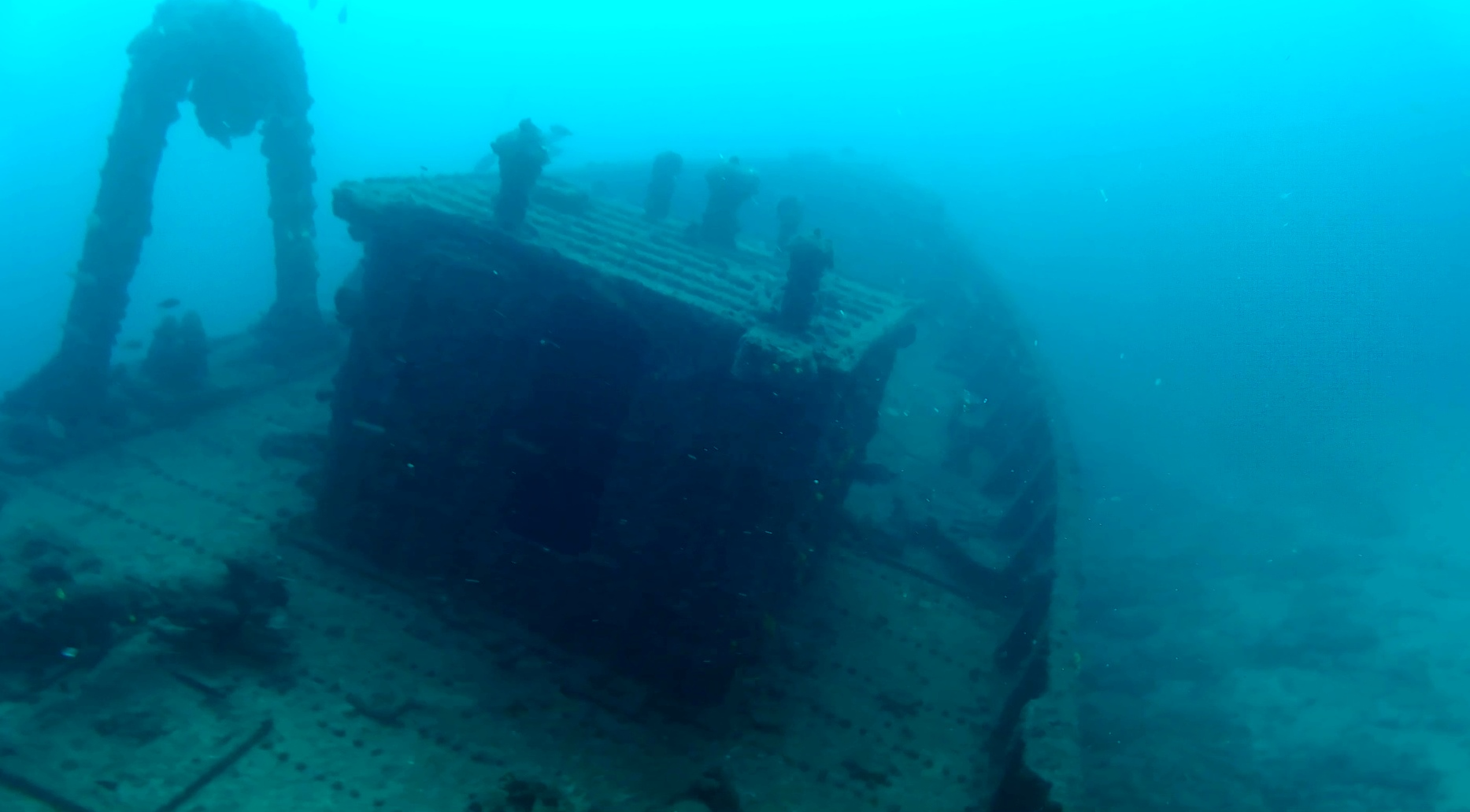 """Relitto Nave """"Kwarcit"""" O """"Boris"""" Intotheblue.it"""